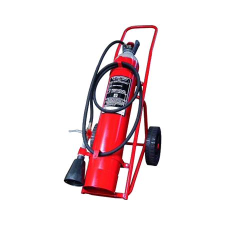 10kg CO2 Wheeled Fire Extinguisher
