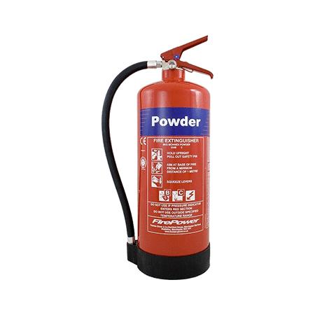 9kg Monnex Powder Fire Extinguishers