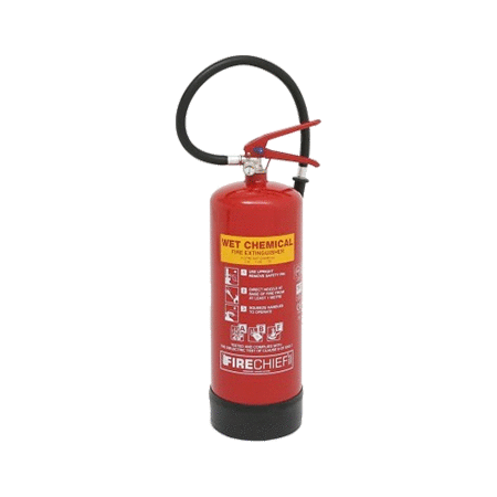 6ltr Wet Chemical Fire Extinguishers