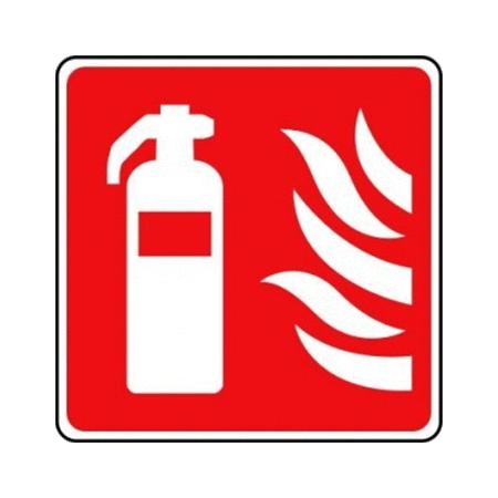 20cm x 20cm Fire Extinguishers Location Signs