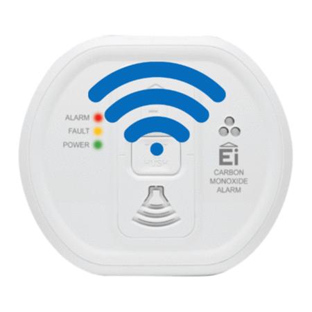10 Year Radio Interlinked Carbon Monoxide Alarm