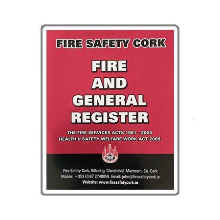 A4 Fire Log Book | A4 Fire Safety Log Book | A4 Fire Safety Register | A4 Fire And General Register