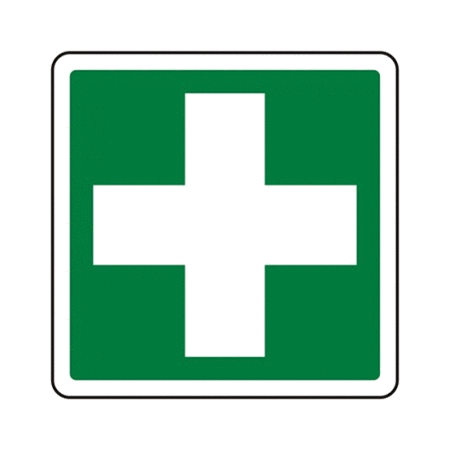 20cm x 20cm First Aid Signs