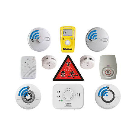 Smoke Alarms And Gas Detectors